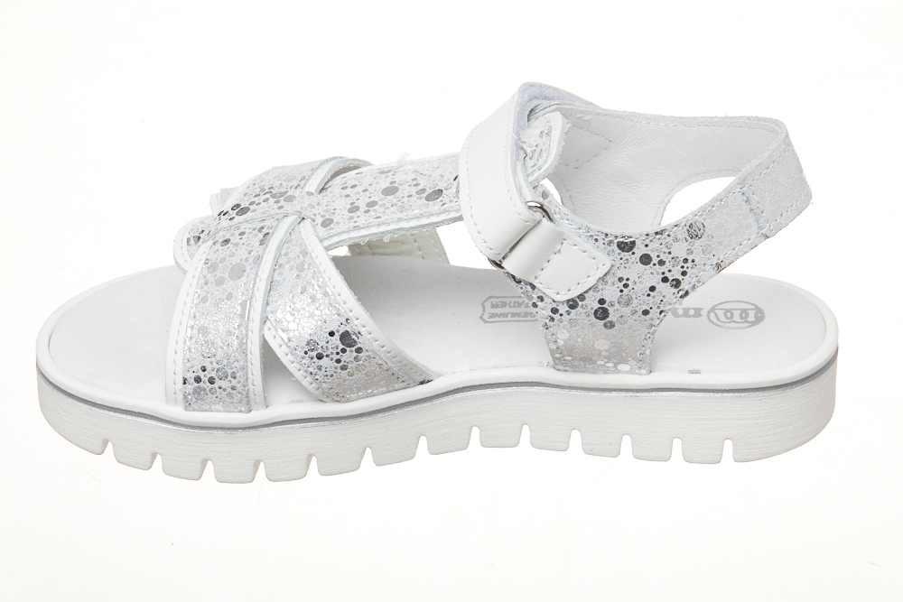 Sandale argintii barete X