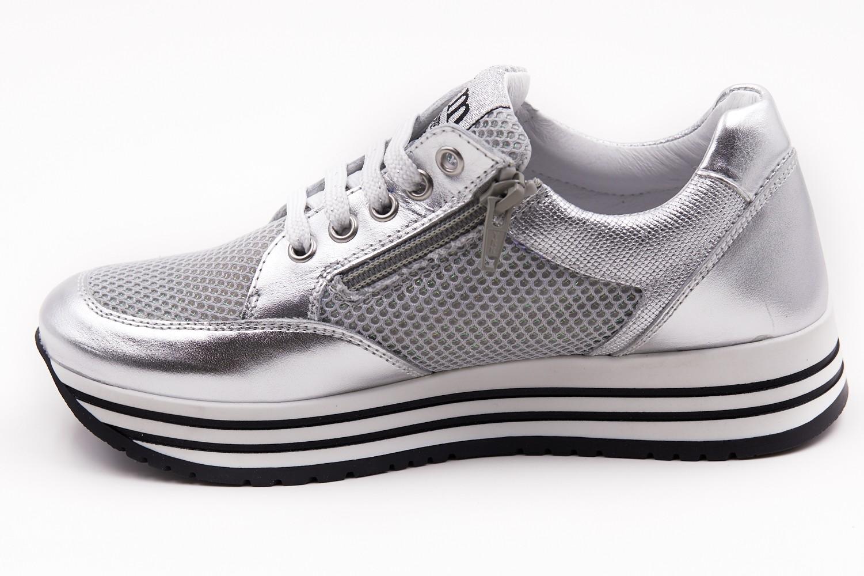 Pantofi sport/casual argintii