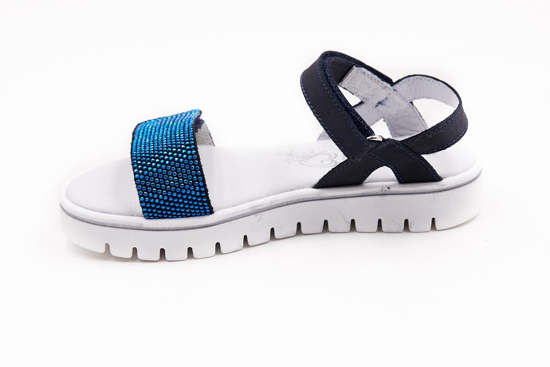 Sandale blumarin strasuri albastre