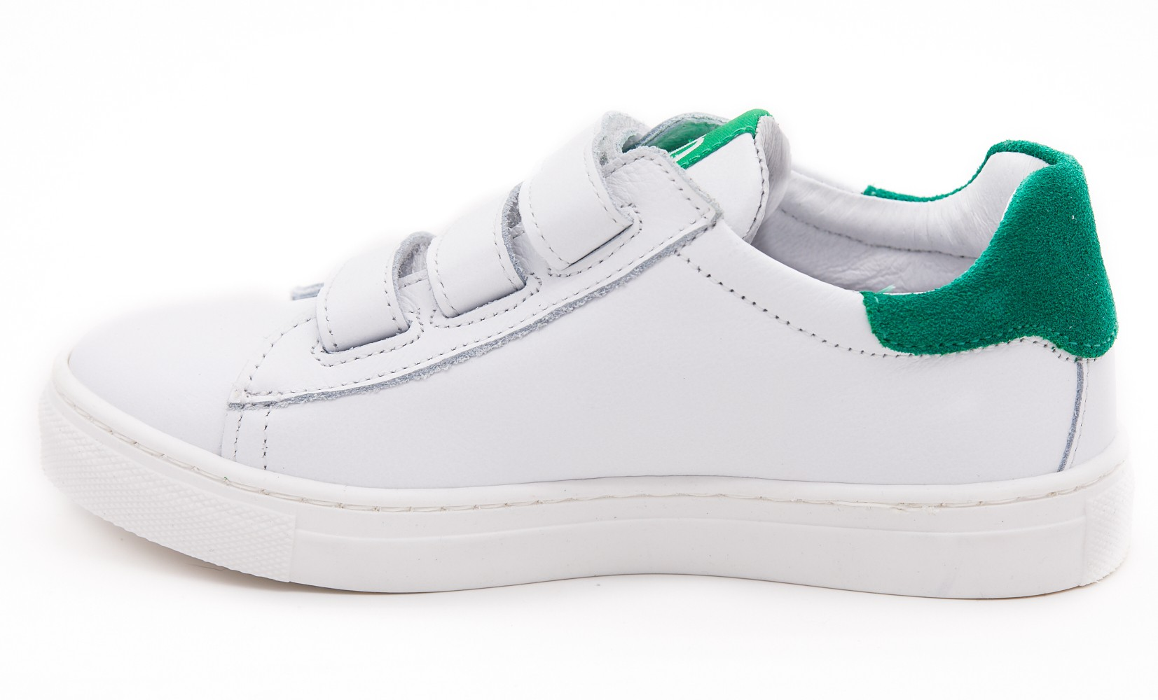 Pantofi sport UNISEX alb/verde
