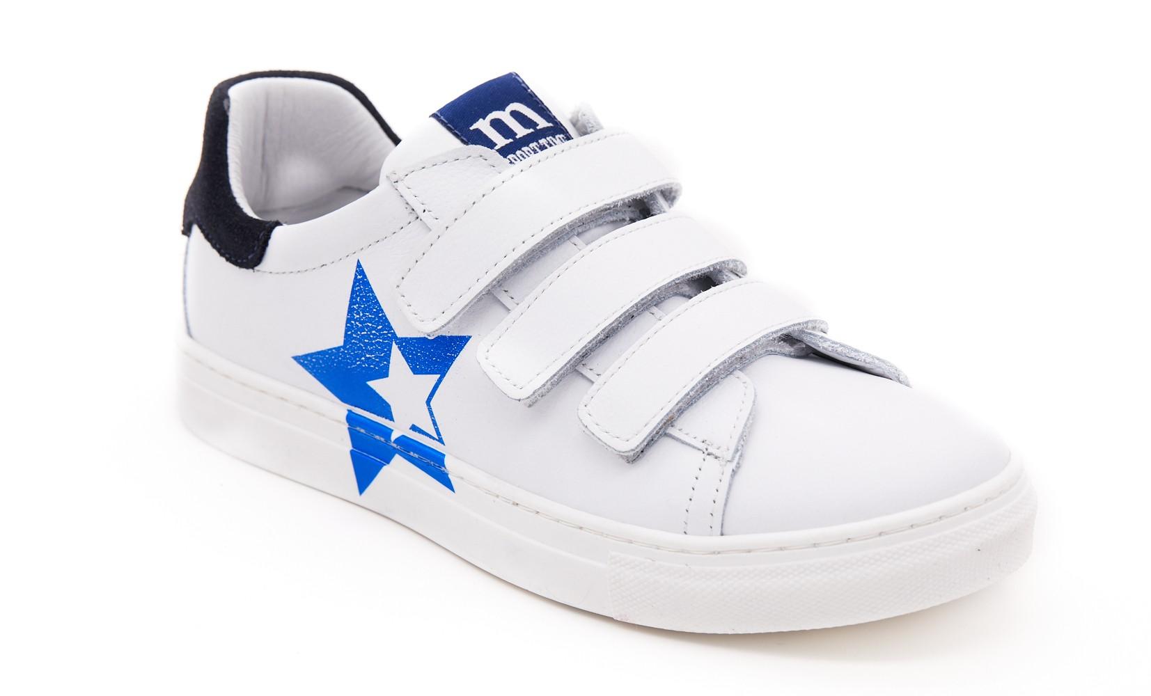 Pantofi sport albi/blu