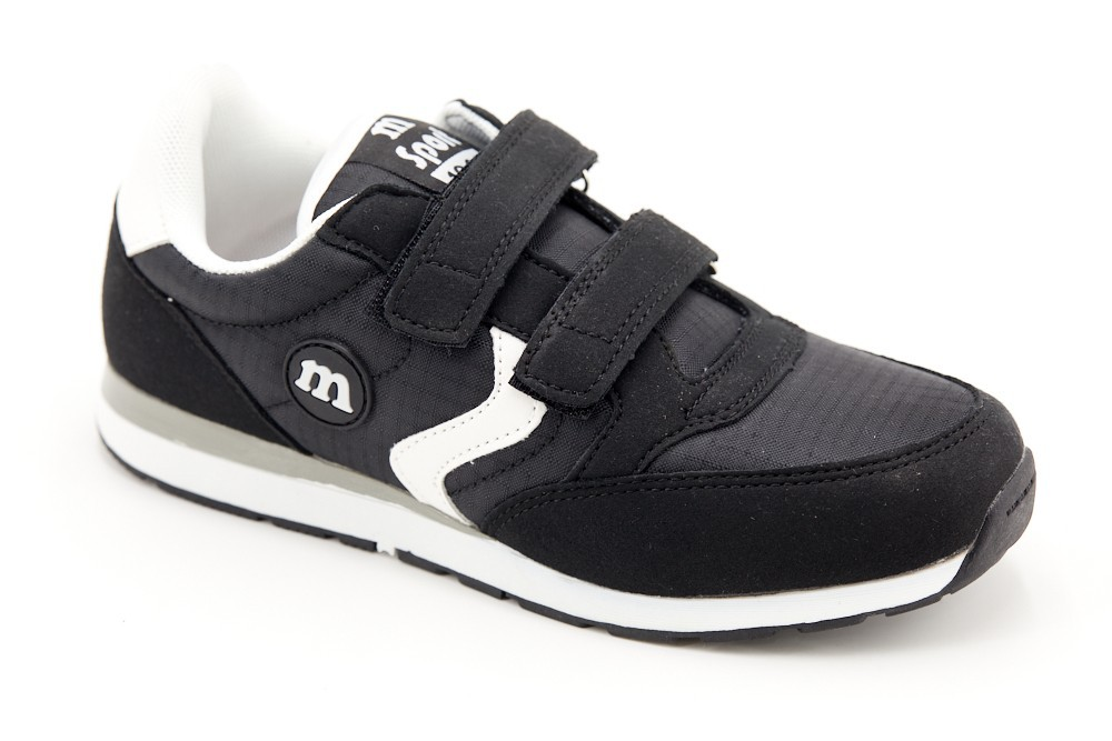 Pantofi negri dublu scay