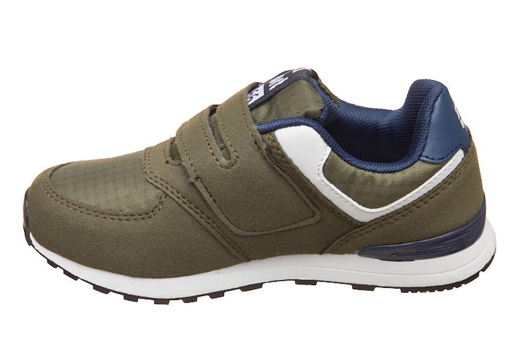 Pantofi sport verzi cu bareta scay