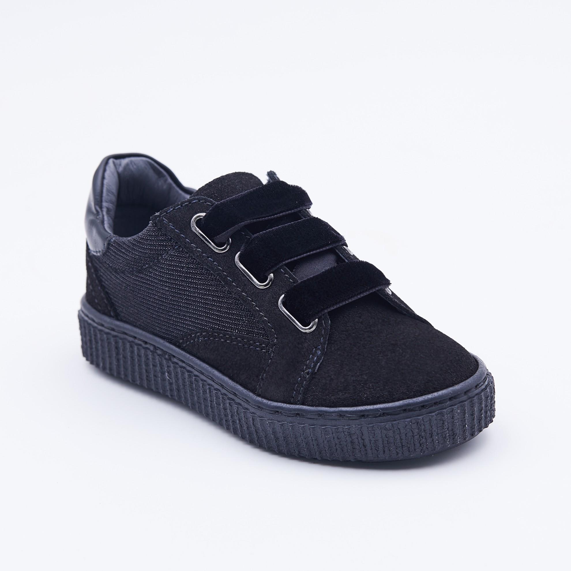 Pantofi casual siret catifea