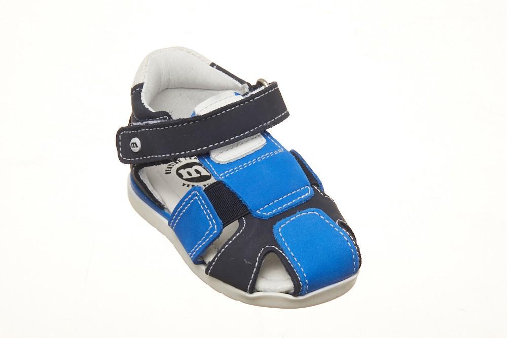 Sandale Melania baieti cu elastic reglabil