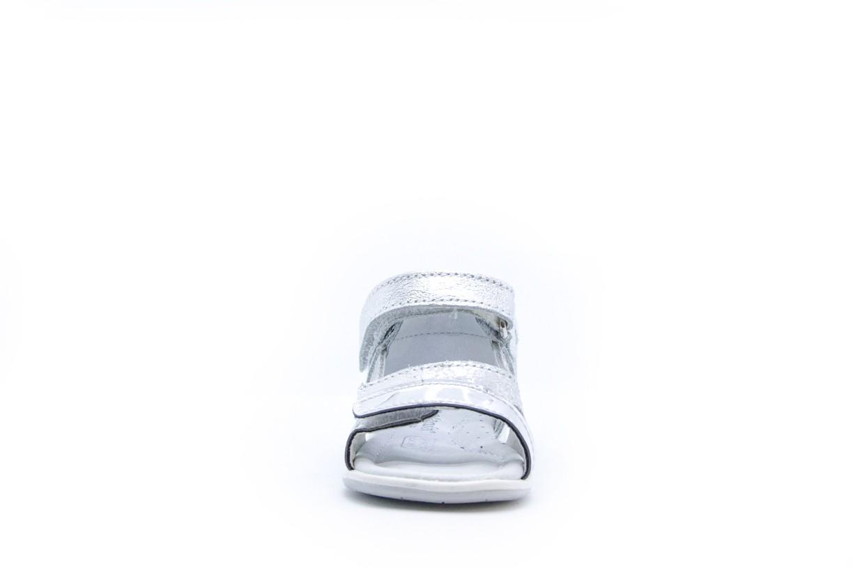 Sandale argintii Melania doua barete scay