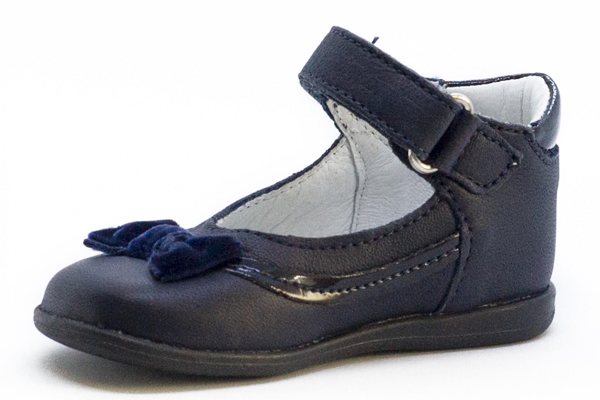 Pantofi bleumarin fundita catifea